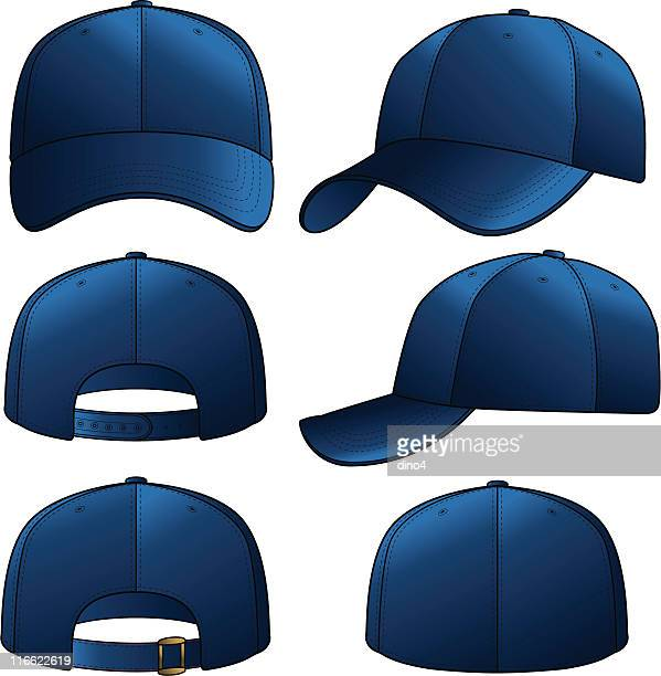 navy cap - cap hat stock illustrations, clip art, cartoons, & icons