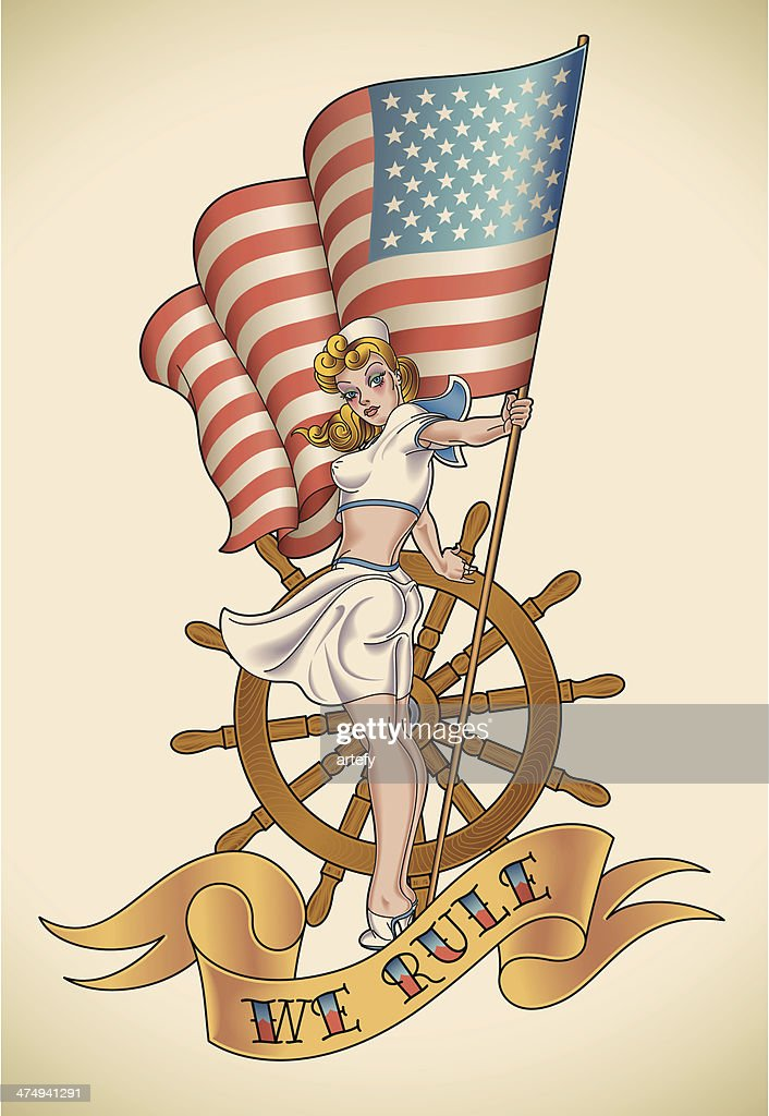 US Navy girl