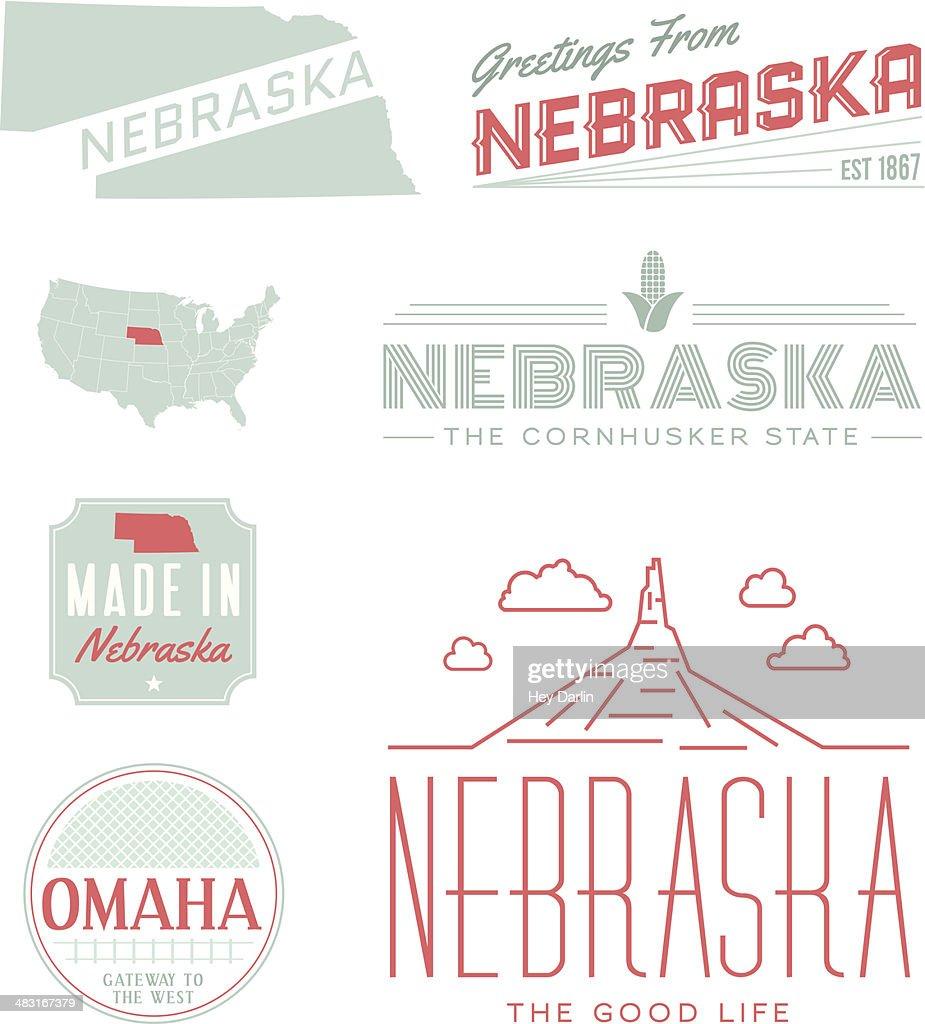 Nebraska Typography