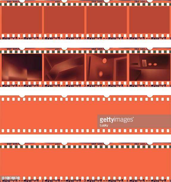 Negative film strips