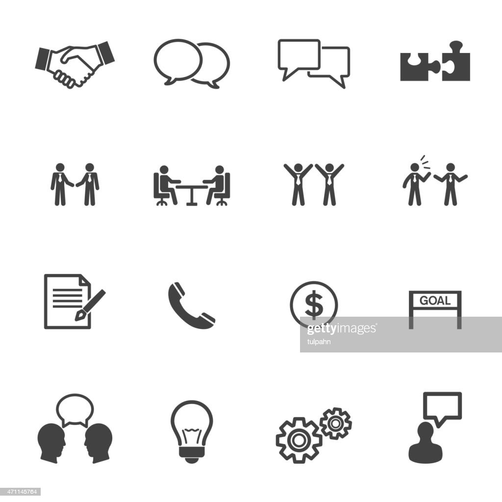 negotiation icons