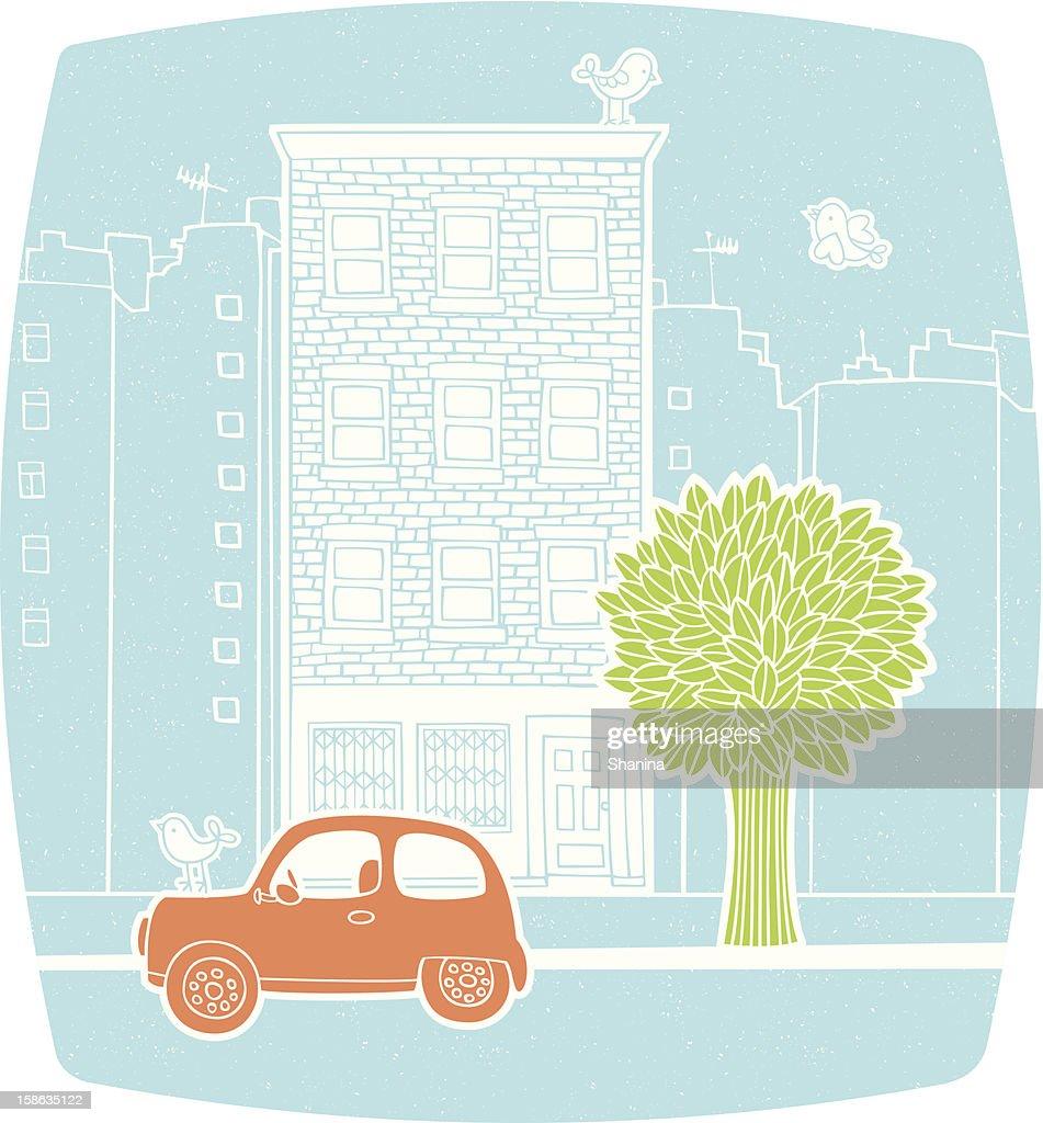 Neighborhood : Vektorgrafik