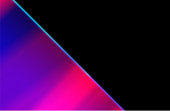 Neo noir style gradient colors background with black copy space