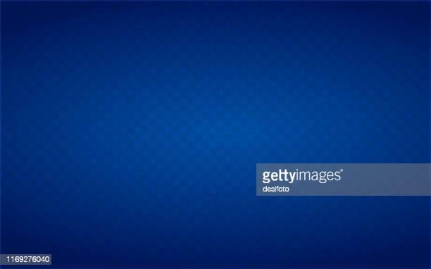 illustrazioni stock, clip art, cartoni animati e icone di tendenza di neon blue coloured half tone vector background illustration - sfondo blu