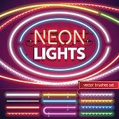 Neon Lights Decoration Set