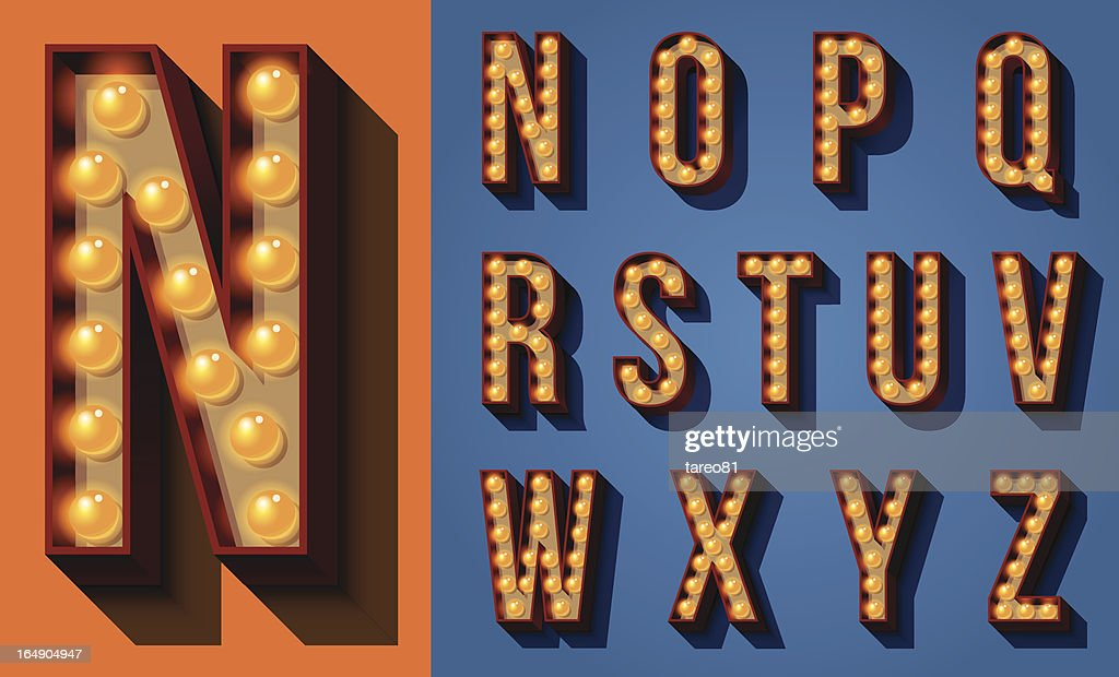 Neon Sign Type