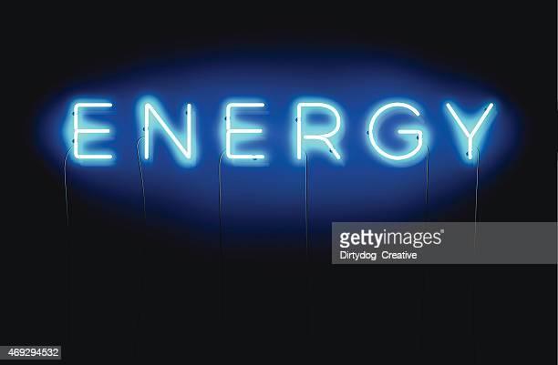 ENERGY neon sign