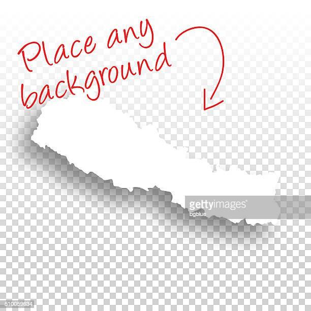 nepal karte für design-vorlage-hintergrund - nepal stock-grafiken, -clipart, -cartoons und -symbole