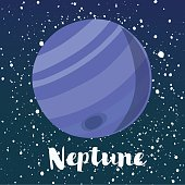 Neptune is the eighth and farthest known planet from the Sun in the Solar System. It is named after the Roman god of the sea