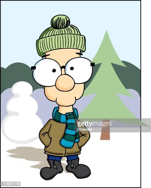 Nerd in Winter