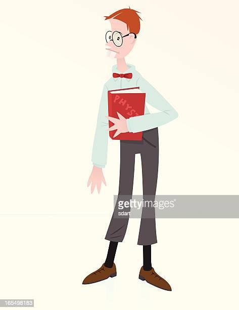 Nerdy School Boy