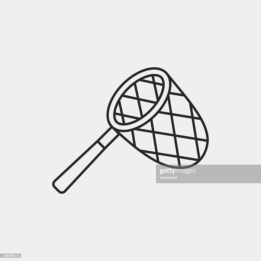 net line icon : Vector Art