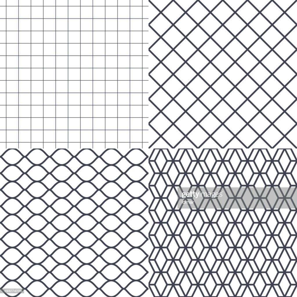 Net, wire and cage background vector