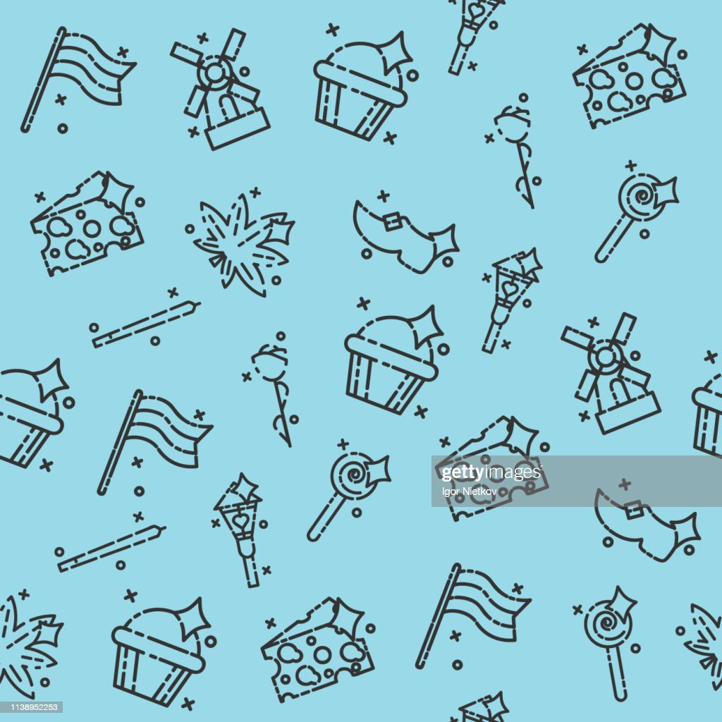 Netherland Icons Design Pattern