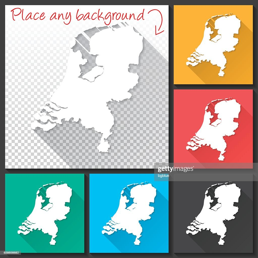Netherlands Map Vector Art Getty Images