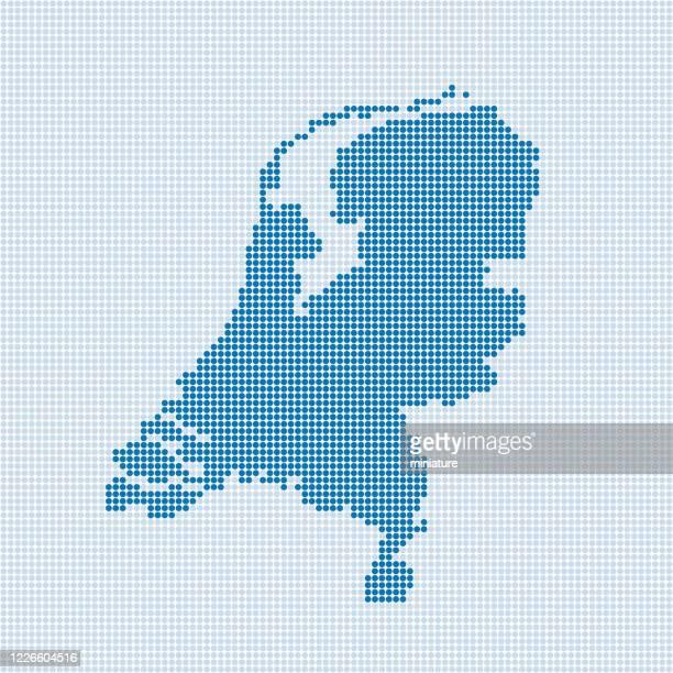 stockillustraties, clipart, cartoons en iconen met nederlandse kaart - benelux