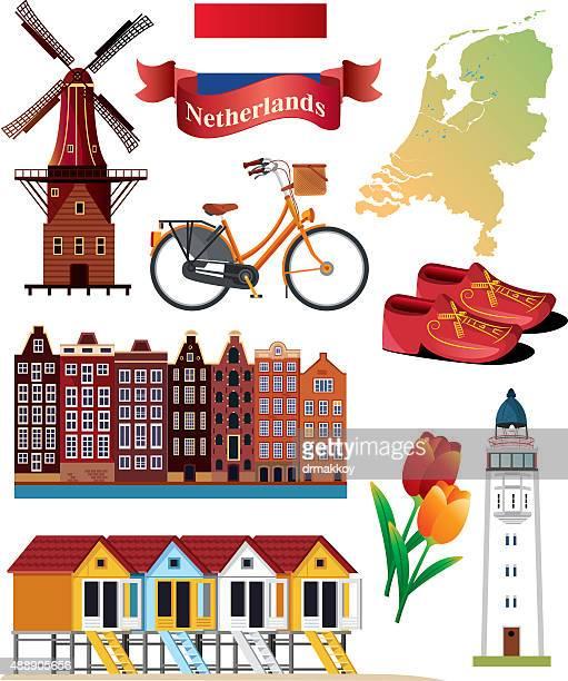Países Baixos símbolos