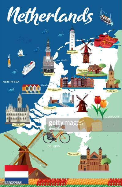 netherlands - middelburg netherlands stock illustrations