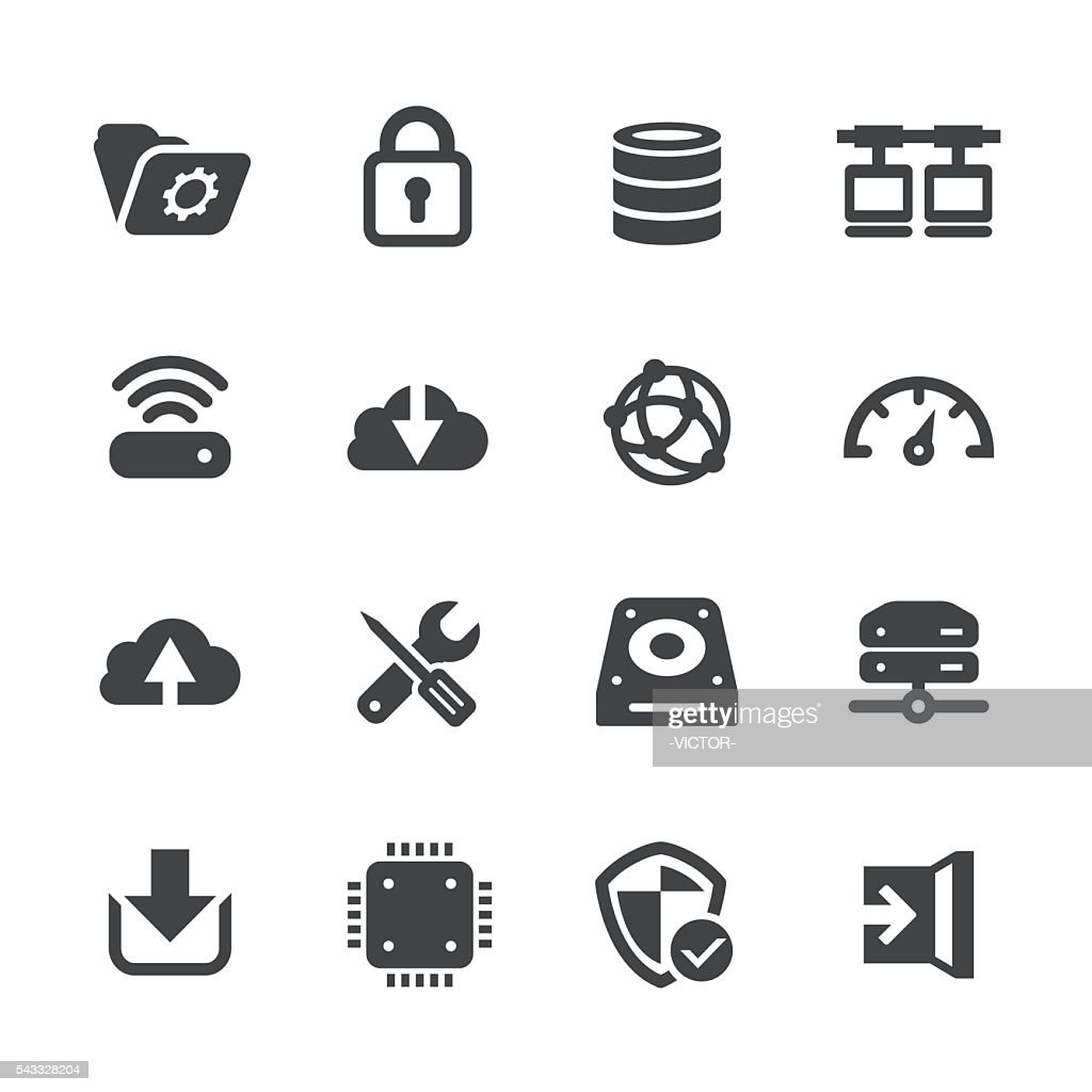 Network and Hosting Icons - Acme Series