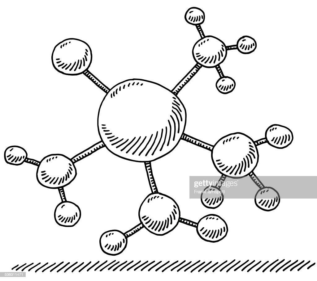 Netzwerk Branch Verbindung Symbol Abbildung : Stock-Illustration
