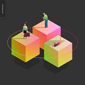 Network concept vector illustration