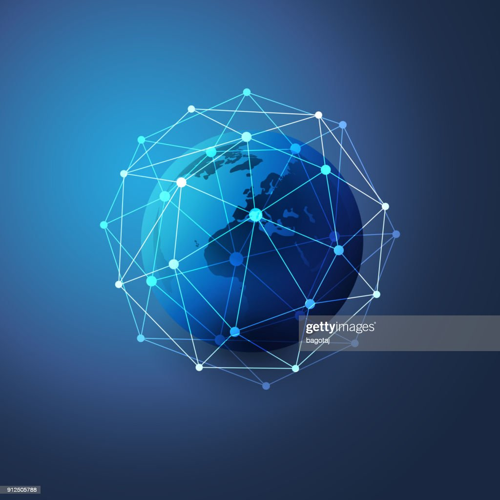 Network Connections Concept