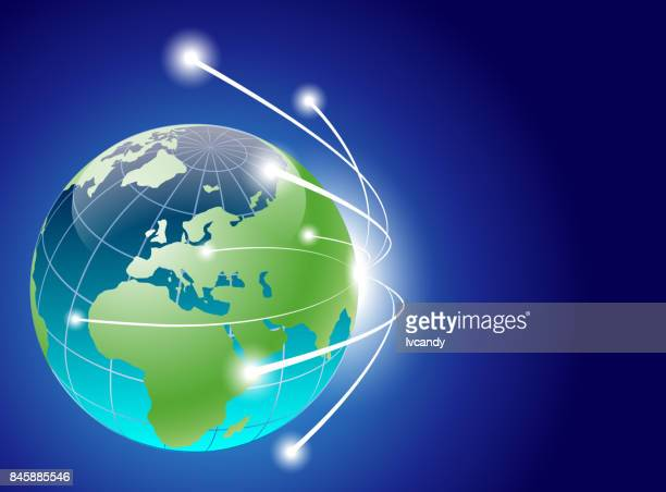 network earth - parallel stock illustrations, clip art, cartoons, & icons
