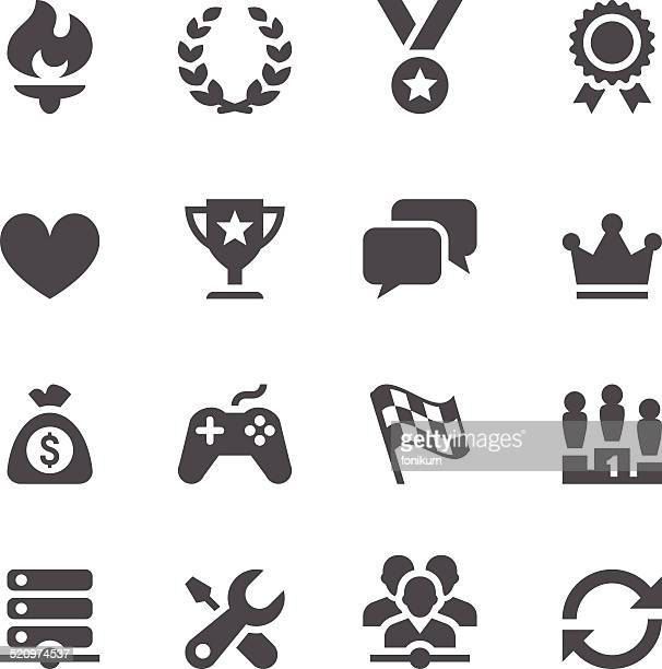 Network Gaming Icons