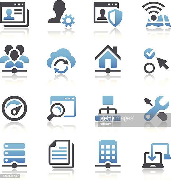 network icons - personal information stock illustrations, clip art, cartoons, & icons