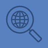 Network search icon