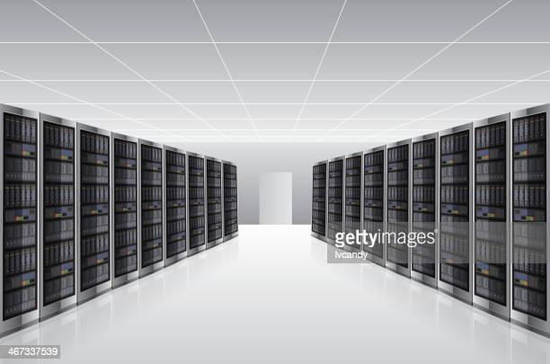 Network Server house