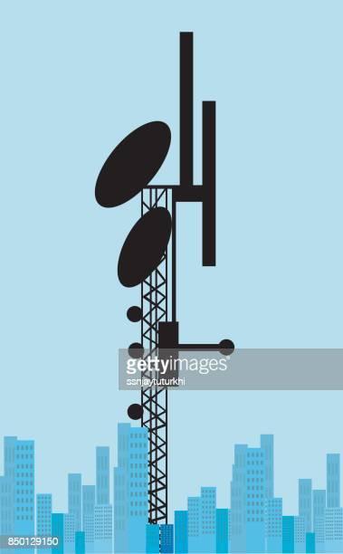 illustrations, cliparts, dessins animés et icônes de serveur de réseau, - équipement de télécommunication