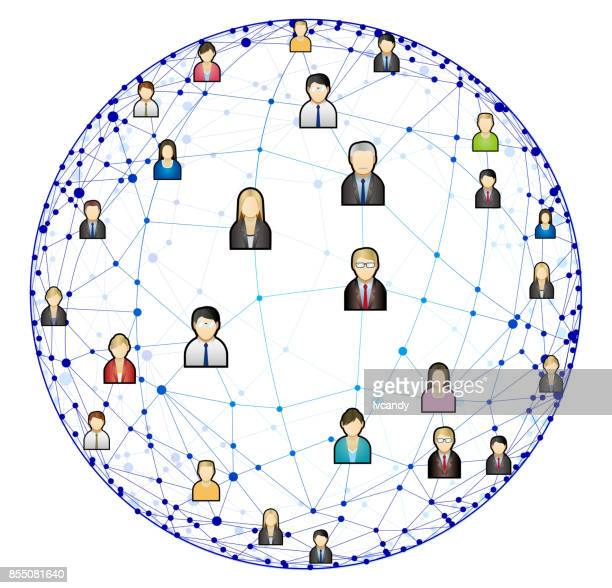 network society - sociology stock illustrations, clip art, cartoons, & icons