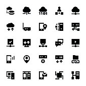 Network Technology Vector Icons 4