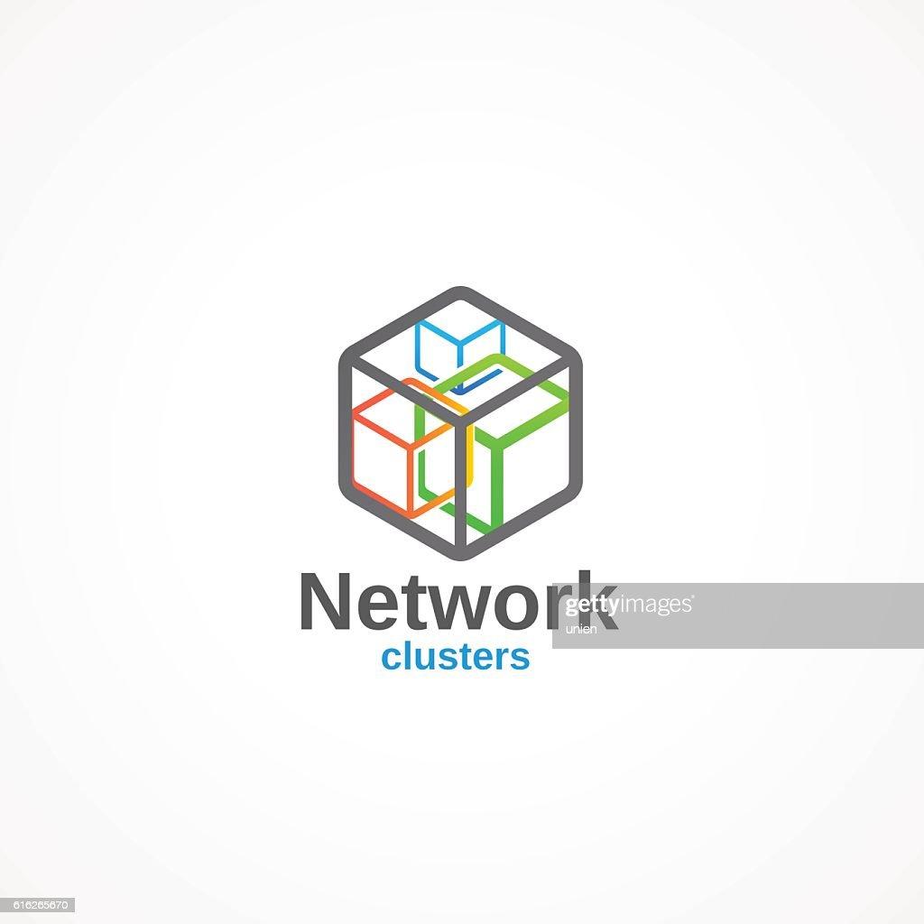 Network. : Vector Art