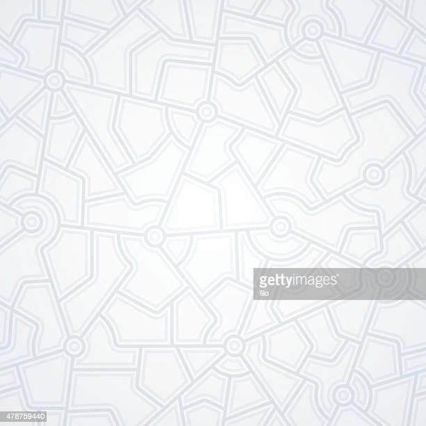 ilustrações, clipart, desenhos animados e ícones de conexões de rede - mapa de rua