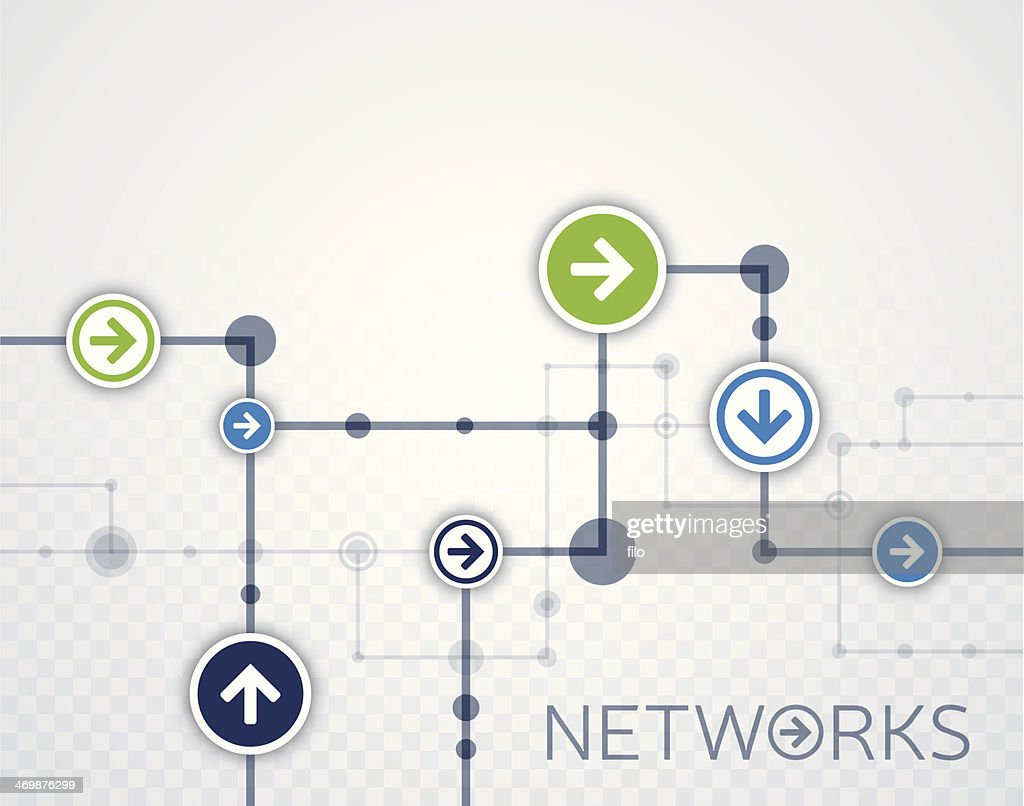 Networks Background : stock illustration