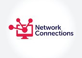 Networks Technology Symbol illustration