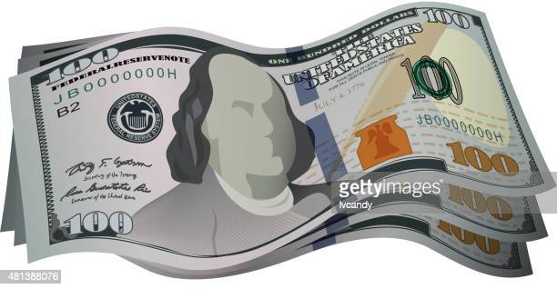 New 100 US dollar cash