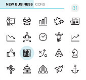New Business - Pixel Perfect icons