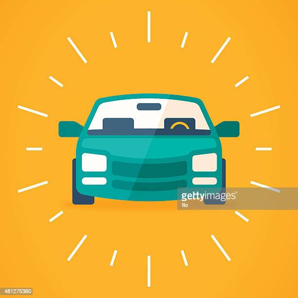 new car - car stock illustrations, clip art, cartoons, & icons