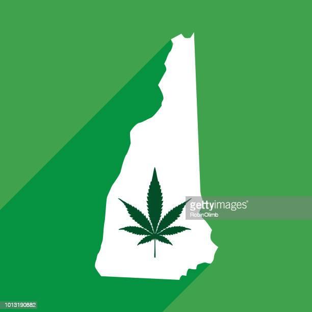 New Hampshire Marijuana Map