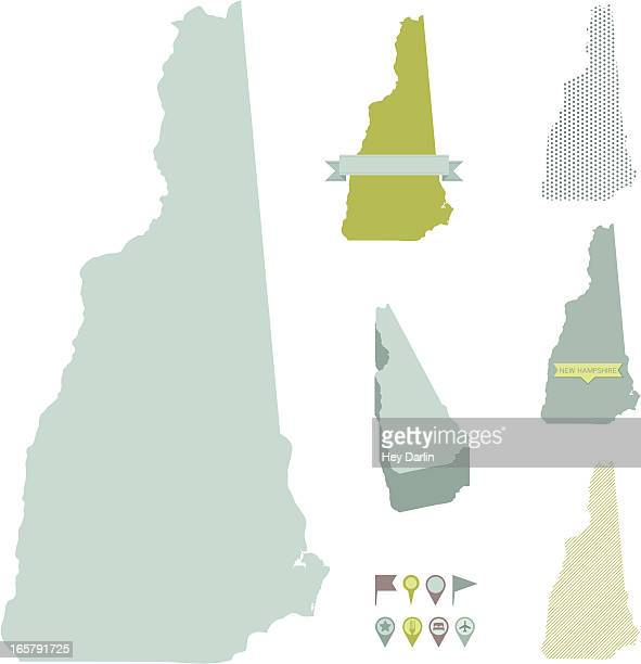 New Hampshire State Maps