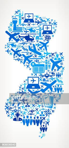 New Jersey Aviation and Air Planes Vector Graphic