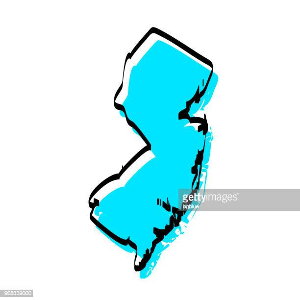 World's Best New Jersey Stock Illustrations - Getty Images on map symbols, map icons, map logos, map cartoons, traffic art, map of continents, map of texas,
