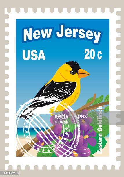 New Jersey State Postage