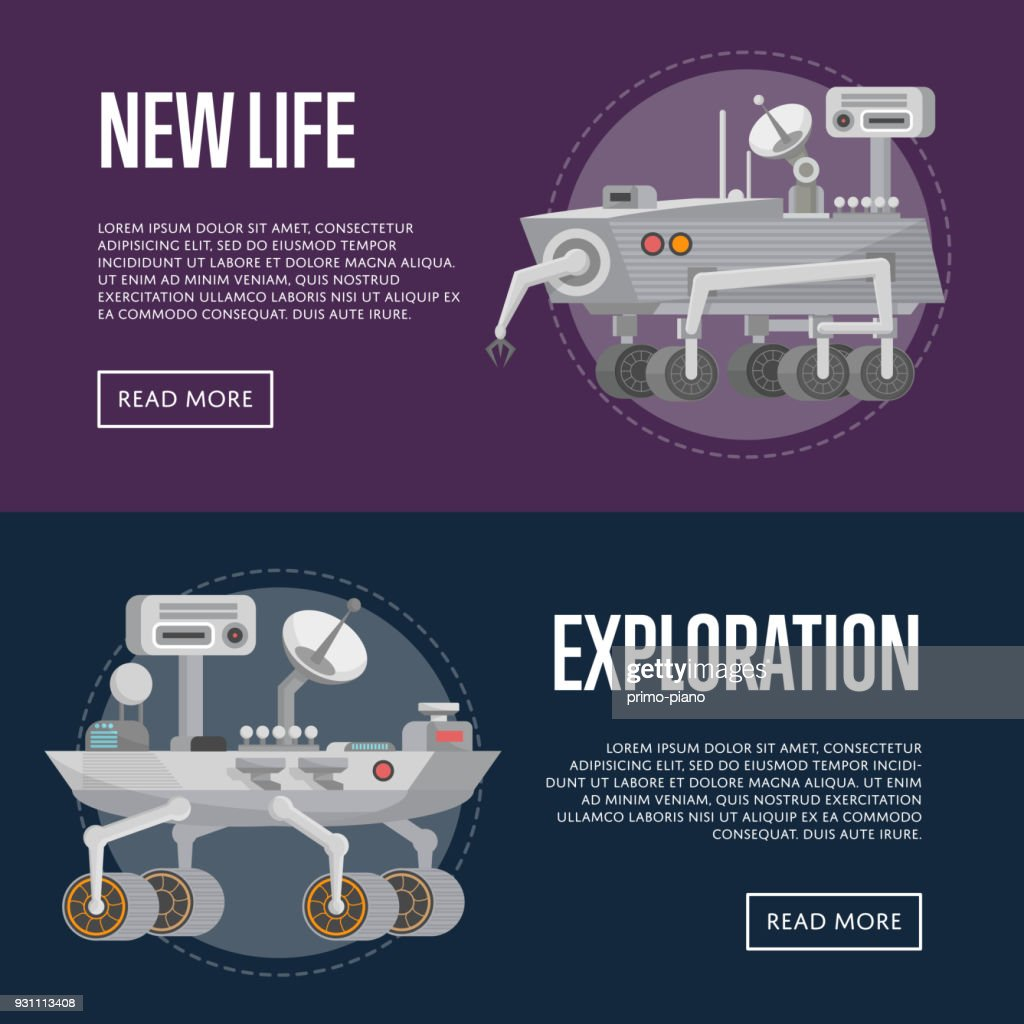 New life concepts with research rovers