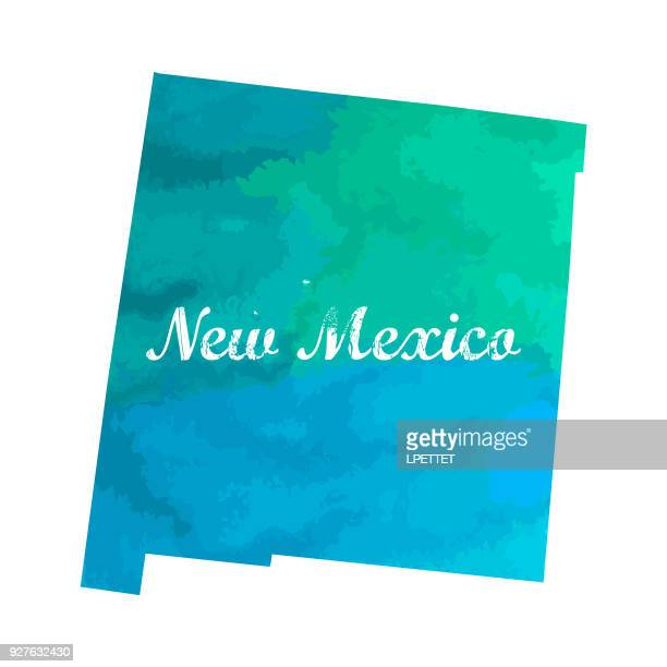 new mexico - new mexico stock illustrations