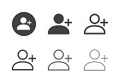 New User Icons - Multi Series
