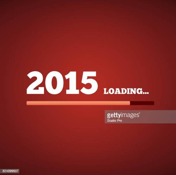 New Year 2015 loading